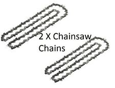 "2 x Chainsaw Chain for B&Q POWER PERFORMANCE PRO42CCCSA 16""/ 40CM"