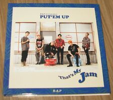 B.A.P PUT'EM UP 5th Single Album CD + JONG UP PHOTOCARD + FOLDED POSTER