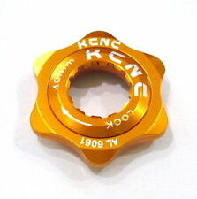 gobike88 KCNC Disc Brake Rotor Center Lock Adaptor, Gold, E32
