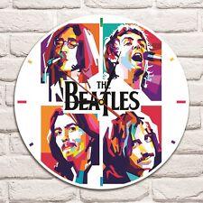 Reloj de Pared el diseño de color de banda de los Beatles Disco De Vinilo Hogar Arte Niños Sala De Juegos 4