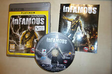 SONY PLAYSTATION 3 GAME inFAMOUS +BOXED +INSTRUCTIONS COMPLETE PAL GWO VGC