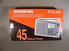 "Sangean ATS 404 World Band radio ""NEW"""
