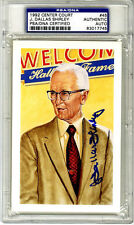 J. Dallas Shirley SIGNED LE Center Court Card NBA Referee PSA/DNA AUTOGRAPHED
