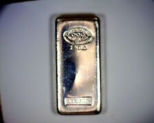 1 Kilo 32.15 OUNCE Johnson Matthey .999 FINE SILVER BAR 32.15oz.