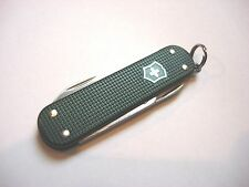 Victorinox Dark Green Ribbed Alox Swiss Army Knife