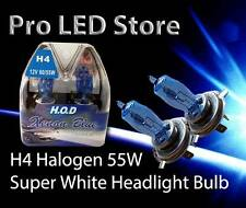 H4 Halogen Super White 5000K Headlight Bulb 60/55W