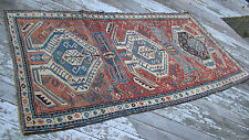 19th Century Antique Caucasian Karabagh Chelaberd Rug LARGE 56 BY 110 INCHES