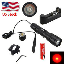 WF-502B  Q5 5000lm LED Flashlight Tactical Torch hunting Light Pressure Switch
