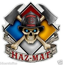 HAZ - MAT FIREFIGHTER BUMPER STICKER