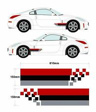 Nismo Nissan 350z Skyline Gtr coche decal Gráfico Stripe Set