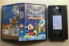 DISNEY - MICKEY'S MAGICAL CHRISTMAS -SNOWED IN AT THE HOUSE OF MOUSE - VHS VIDEO