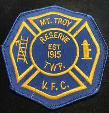 Mt. Troy Township Reserve Volunteer Fire Company Patch