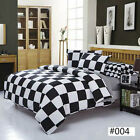 Black & White NEW Single Queen King Sizes Bed Quilt Duvet Cover Bed Set Comfort