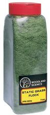 Woodland Scenics FL636 Static Grass Flock Dark Green 32 oz Train Scenery