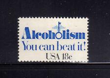 ESTADOS UNIDOS/USA 1981 MNH SC.1927 Alcoholism