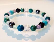 ARTHRITIS, RHEUMATISM, JOINT & BACK - CRYSTAL HEALING BEADED GEMSTONE BRACELET