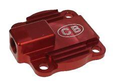 CB Rosso, POMPA OLIO COVER piastra di raffreddamento a flusso pieno VW T1 T2 T3 Bus Beetle GHIA