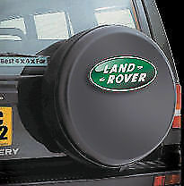 LAND ROVER FREELANDER 4x4 spare wheel cover BLACK WITH LOGO
