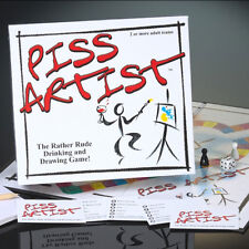 Piss Artist The Rather Rude Drinking And Drawing Adult Party Fun Board Game