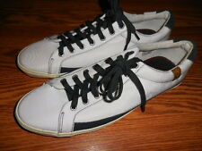 "Men's 7 for All Mankind ""Calvin"" Sneaker / Shoe Size 12  White/Navy"