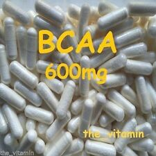 BCAA 600mg (Branched Chain Amino Acid) 180 Capsules      FREE POSTAGE