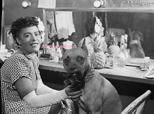 African American Jazz Legend Billie Holiday in her dressing room. 8 x 10 Photo