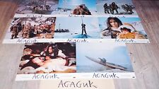 AGAGUK  !   jeu 8 photos cinema lobby card esquimaux inuit