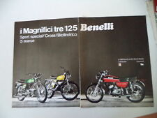 advertising Pubblicità 1973 MOTO BENELLI 125 SPORT SPECIAL/CROSS/2C