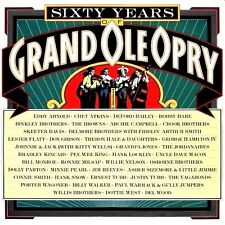 SIXTY YEARS OF GRAND OLE OPRY (2 LP) PREMIUM QUALITY USED LP (NM/NM)