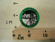 STICKER,DECAL DE OUDE TREKKER EN MOTOREN VERENIGING TRACTOR