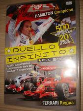 DVD DUELLO INFINITO HAMILTON CAMPIONE FERRARI REGINA F1 2009 MASSA