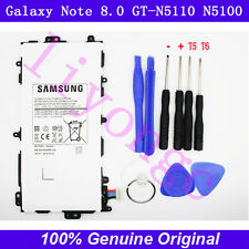 Genuine  OEM SP3770E1H Battery Samsung Galaxy Note 8.0 GT-N5110 N5100+TOOLS