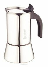 Bialetti Elegance Venus Induction 6 Cup Stainless Steel Espresso Maker