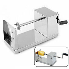 Manual Stainless Steel Twisted Potato Slicer French Fry Vegetable Cutter LZ