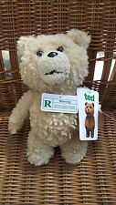 "TED R Rated 8"" Talking Plush Movie Bear Brown New w/ Tags Commonwealth Toys"