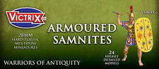 28mm ANCIENT ARMOURED SAMNITES - VICTRIX - ANCIENTS - VXA015 -