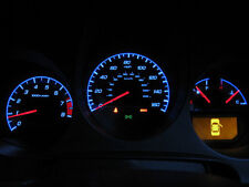 2004-06 Acura TL Type S SILVER Face BLUE Glow Gauges for instrument cluster