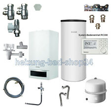 Buderus GAS VAILLANT dispositivo Logamax plus GB 172 24kw con su200w + RC 300 w22