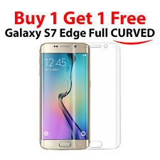 New Samsung Galaxy S7 Edge G935F Curved TPU Full Screen Protector Ultra Clear +