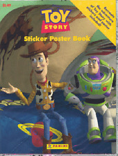 TOY STORY ~ SKYBOX DISNEY STICKER POSTER BOOK, STILL SEALED IN ORIGINAL PACKAGE