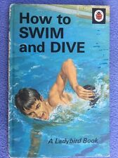 + Ladybird - How To Swim And Dive - Marlow - 1971 - Series 633 - England +