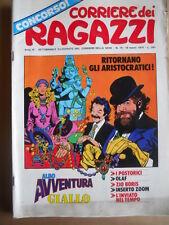 Corriere dei Ragazzi n°10 1974 con inserto Albo Avventura   [G419]