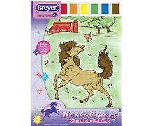Breyer Horse  Crazy  Watercolor Painting     for young artist