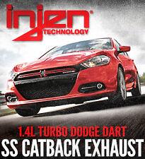 """Injen 3"""" Stainless Steel Cat-back exhaust for 2013-2014 Dodge Dart Turbo 1.4T"""