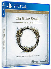 THE ELDER SCROLLS ONLINE TAMRIEL UNLIMITED PS4 NEW SEALED FAST DISPATCH