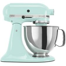 Artisan Series 5 Qt Stainless Steel Bow Solid-State Control Stand Mixer Ice Blue