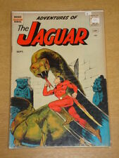 ADVENTURES OF THE JAGUAR #1 VG (4.0) ARCHIE SEPTEMBER 1961 ORIGIN 1ST APP (A)