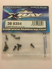 Xray M18 389354 Phillips Screws Screw Set 2.5 X 8 (10)
