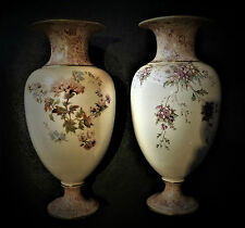 A pair of Extremely Early Doulton Burslem Vases