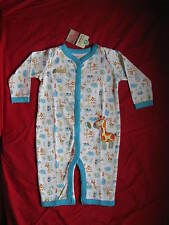 carters baby clothing all in one piece long sleeve romper 3 6 and 9 months